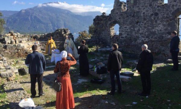 Divine Service Celebrated on St. Nicholas Island
