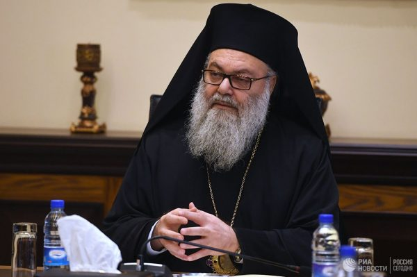 """""""We Categorically Reject"""" What is Happening in Orthodox World, Pat. John of Antioch Tells Russian Delegation"""