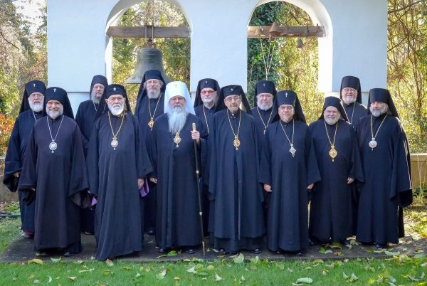 OCA Holy Synod Postpones Anniversary Celebrations