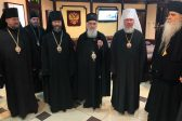 Primate of the Serbian Orthodox Church arrives in Moscow