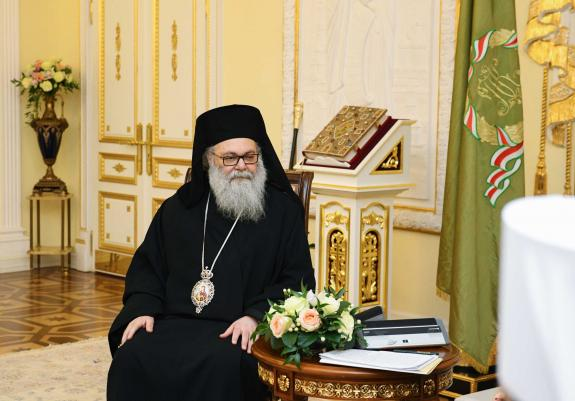 Patriarch John of Antioch: We believe in the unity of our Church