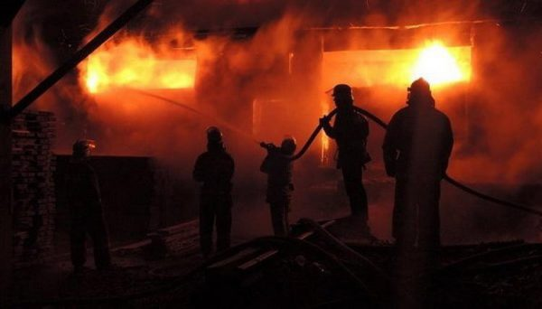 Church set ablaze in southern Ukraine