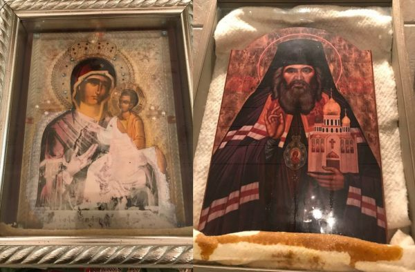 Western Rite Parish in PA Home to Two Myrrh-streaming Icons