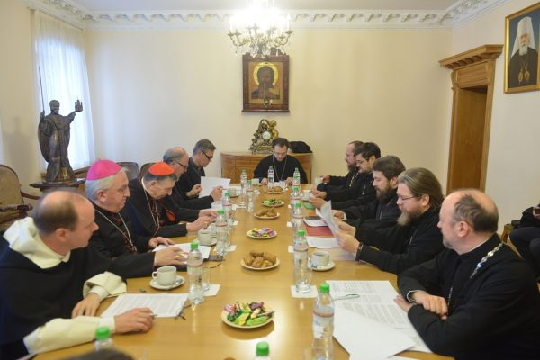 Working Group for Cultural Cooperation between the ROC and the Roman Catholic Church Holds its Regular Meeting in Moscow
