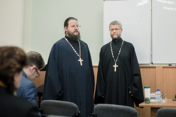"""Relationship Category: Orthodox and Western view."" The St. Petersburg Theological Academy Hosted a Lecture by Archpriest George Zavershinsky"