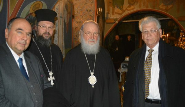 Delegation of Greek Orthodox Church Visits Moscow