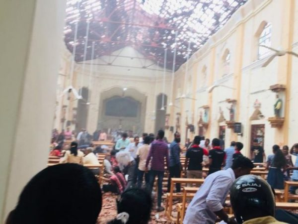 Explosions in Sri Lanka Target Churches, at Least 185 Dead on Catholic Easter Sunday
