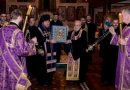 The Miraculous Image of the Kursk-Root Icon of the Holy Theotokos Brought to the Dormition Cathedral in London
