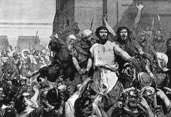 Begging for Barabbas