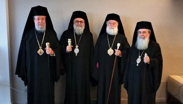 Primates of Four Churches Urge to Defend Temples of Ukraine from Seizures