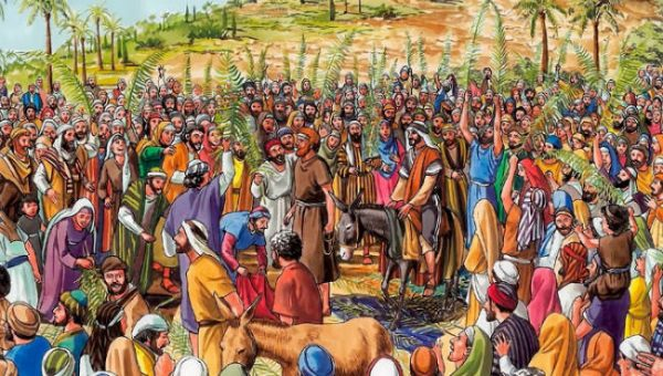 """Welcome Home: A """"Triumphant"""" Entry into the Ancient Christian Faith on the Feast of Palms"""
