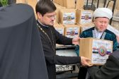 Interreligious Delegation from Russia Distributes Humanitarian Aid among Citizens of Syrian Capital