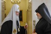 Primate of the Russian Orthodox Church Meets with the Supreme Patriarch and Catholicos of All Armenians