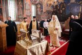 Patriarch Daniel of Romania Blesses New Reliquaries for Suzana Monastery