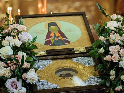 Reliquary of St John of Shanghai Travels to Parishes in Switzerland to Mark the 25th Anniversary of His Canonization