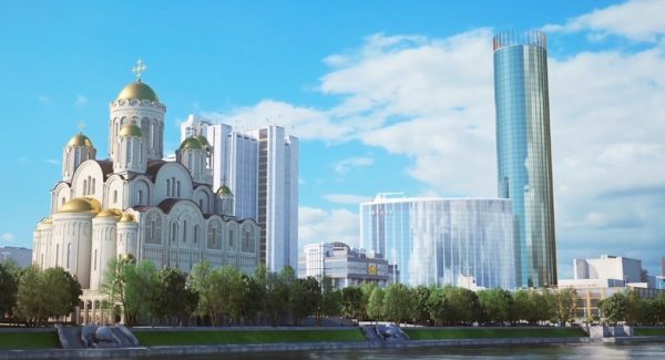 "Vladimir Legoyda, ""The Church Stands for Dialogue, Harmony and Peace in the Situation with the Construction of the Church in Yekaterinburg"""