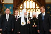 His Holiness, Patriarch Kirill Attends Paschal Reception at the Ministry of Foreign Affairs