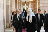 His Holiness Patriarch Kirill Meets with Mayor of Strasbourg, Mr. Roland Ries