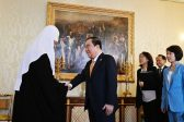 Patriarch Kirill Meets with Speaker of the National Assembly of the Republic of Korea