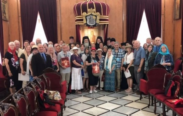 Bishop Paul of Chicago, Pilgrims Received by Patriarch of Jerusalem