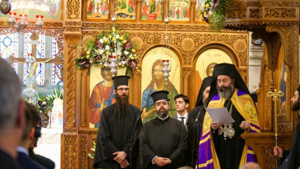Archbishop Makarios Enthroned in Sydney