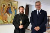 Metropolitan Hilarion Meets with General Secretary of World Council of Churches