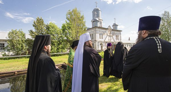 St. Nilus of Sora Hermitage in the Russian North Restored