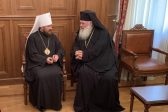 Metropolitan Hilarion Meets with Primate of Greek Orthodox Church