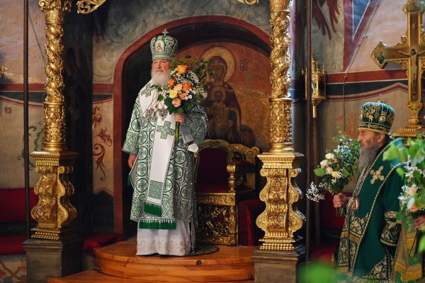 His Holiness, Patriarch Kirill's Sermon on Pentecost