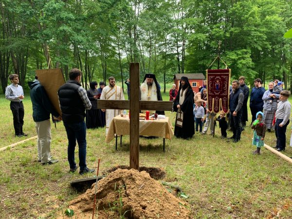 Romanian Metropolitan Lays Foundation Stone for New Church Dedicated to St John Jacob of Neamt