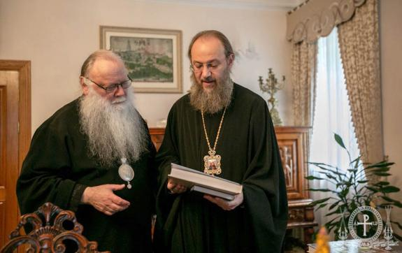 Chancellor of the Ukrainian Orthodox Church and Rector of the Chicago Pastoral School Discuss Cooperation in the Field of Theological Education