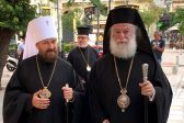Metropolitan Hilarion of Volokolamsk Meets with Patriarch Theodoros of Alexandria and All Africa