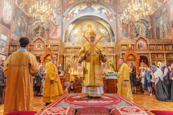 """Joy of All Who Sorrow"" Cathedral Hosts 25th-Anniversary Celebrations of the Canonization of St John (Maximovich) (Photo-Report)"