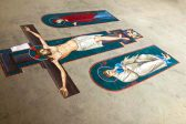 Five-Metre Mosaic Cross Ready to be Applied on National Cathedral's Iconostasis