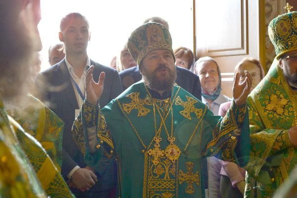Metropolitan Hilarion's Sermon on the Day of St. Sergius of Radonezh