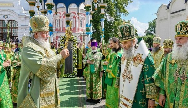 Patriarch Kirill Conveys Words of Support and His Blessing to UOC Believers