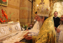 Relics of St Nephon the Patriarch of Constantinople Moved to New Silver Reliquary