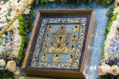 """The Visit of the Kursk Root Icon of the Mother of God """"of the Sign"""" to the Saratov Metropoliate Concludes"""
