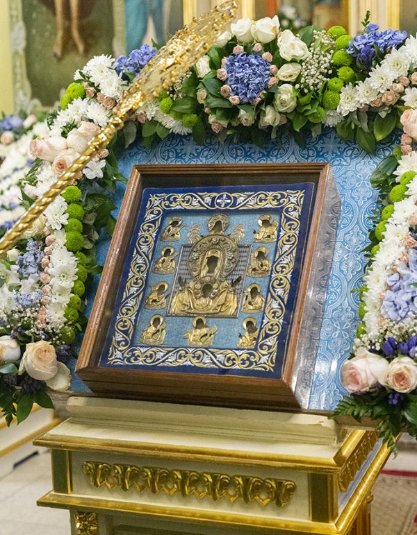 "The Visit of the Kursk Root Icon of the Mother of God ""of the Sign"" to the Saratov Metropoliate Concludes"