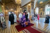 """I Will Never Forget this Service"": Bishop Nicholas of Manhattan participates in a Baptismal Liturgy at Saratov's Pokrov Cathedral"
