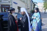 Metropolitan Hilarion of Volokolamsk Meets with Primate of Malankara Church