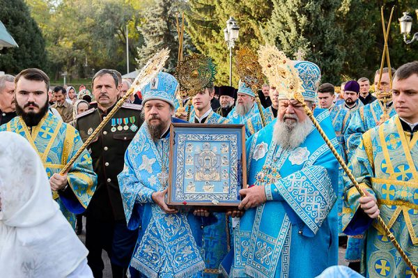 Delegation of the Russian Church Abroad Joins the Reopening Celebrations of Ascension of the Lord Cathedral