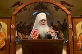 Metropolitan Tikhon Presides at All Night Vigil for Saint Innocent