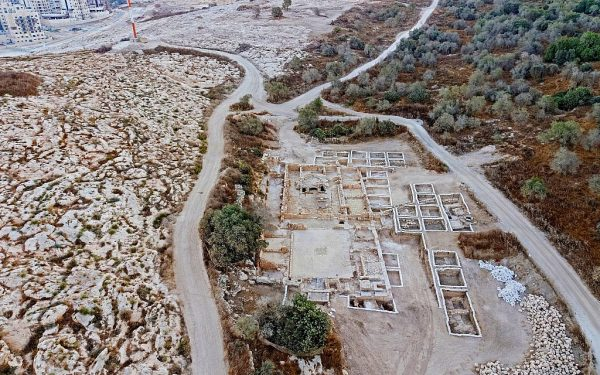 1,500-Year-Old Byzantine Church Near Jerusalem Uncovers Enigma