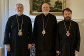 Metropolitan Hilarion Meets with Constantinople Representative in U.S