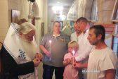 Great-Grandson of St. Luke of Simferopol Baptized in Greece