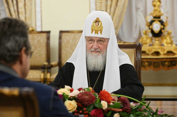 His Holiness Patriarch Kirill Meets with President of Swiss Council of States