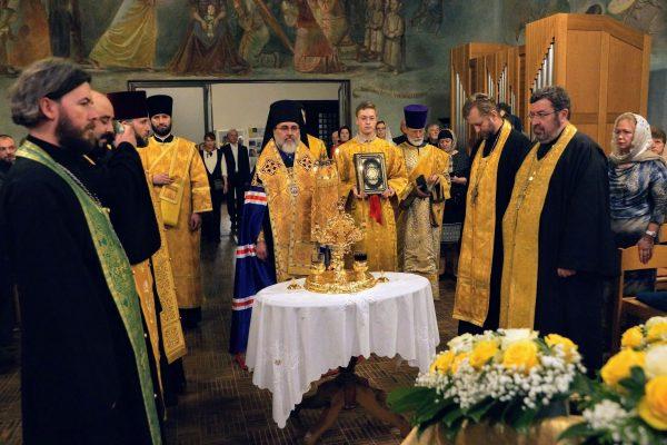 Holy Trinity Church in Switzerland Celebrates its 75th Anniversary