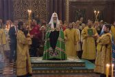 Patriarch Kirill for the First Time Does Not Commemorate Head of Greek Church