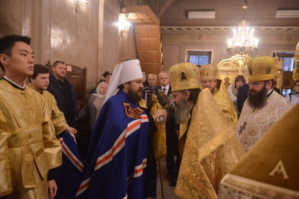 Moscow Representation of the Orthodox Church of the Czech Lands and Slovakia Celebrates its 20th Anniversary